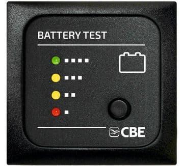 CBE 12v Battery Test Panel