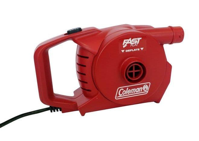 Coleman 230V QuickPump™ Airbed pump, Air pump - Grasshopper Leisure