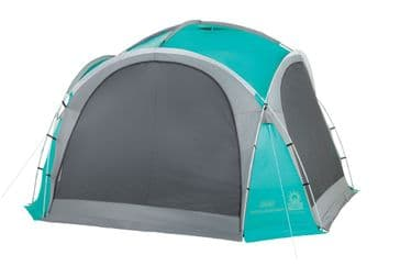 Coleman Event Dome L Shelter 3.65m with 4 screen walls & 2 Doors