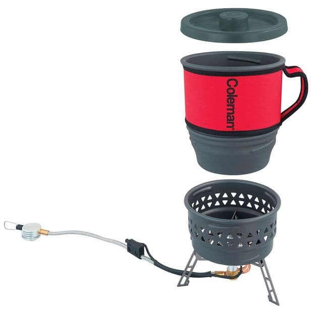 Coleman Fyrestorm PCS backpacking stove, Outdoor Camping Cooking Equipment - Grasshopper Leisure