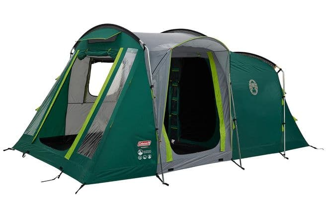 Coleman MacKenzie 4 BlackOut Bedroom Family Camping Tent 2021 - Grasshopper Leisure