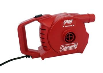 Coleman Rechargeable 12v & 230v Quickpump Airbed pump