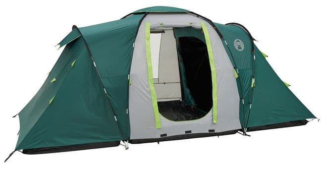 Coleman Spruce Falls 4 Family Camping Tent , 4 Person tent, Outdoor Camping Tent  - Grasshopper Leisure