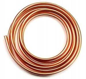 Copper Tube 8mm Gas Installations (per metre)