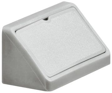 Double Corner Joint Blocks & Caps - Light Grey