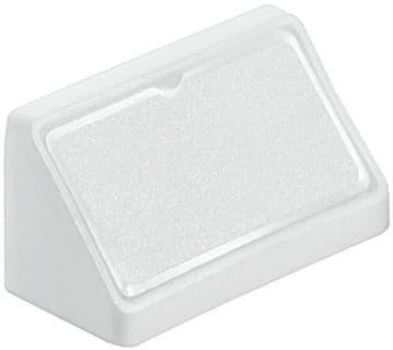 Double Corner Joint Blocks & Caps - White
