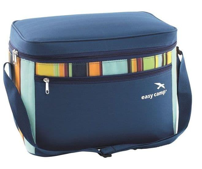 Easy Camp Coolbag Stripe M with shoulder strap - Grasshopper Leisure
