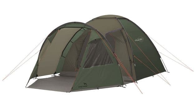 Easy Camp Eclipse 500 Rustic Green Tent 120387,  Family camping tent for 5 people, Outdoor Camping Equipment - Grasshopper Leisure