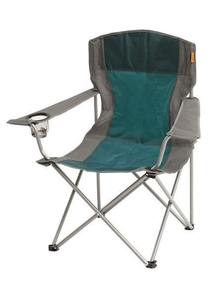 Easy Camp Furniture Camping Outdoor ARM CHAIR Petrol Blue - Grasshopper Leisure