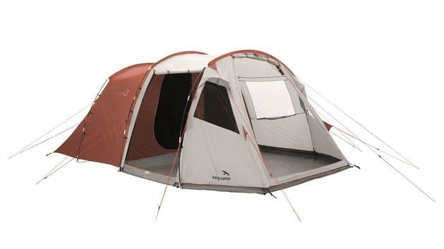 Easy Camp Huntsville 600 Tent 120341,  Family camping tent for 6 people, Outdoor Camping Equipment - Grasshopper Leisure