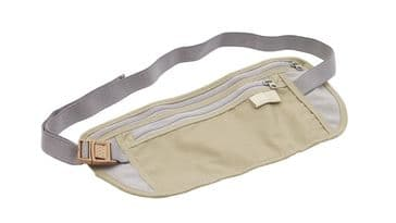Easy Camp Money Belt with Two Pockets Travel Bum Bag