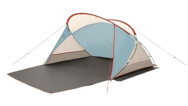 Easy Camp Shell Beach Shelter 120366, Camping & Beach Windscreen - Grasshopper Leisure
