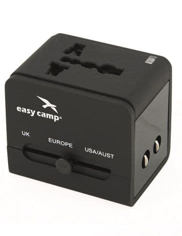 Easy Camp Universal Travel Adaptor / Travel Power Converter