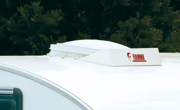 Fiamma Air Spoiler 40 x 40 White, Rooflights / Vents for Motorhome Caravan Campervan - Grasshopper Leisure