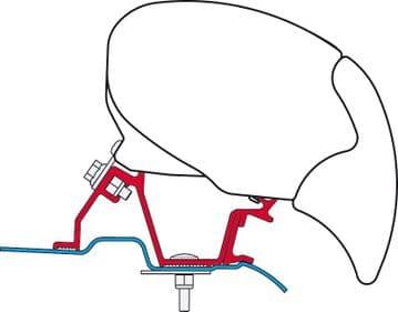 Fiamma Awning Adapter Kit Mercedes Sprinter After 2006 High Roof (EU) - F65 / F80