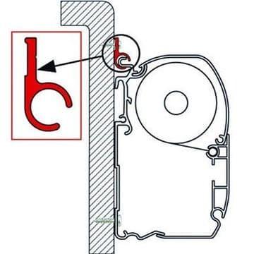 Fiamma Awning Adaptor Rail FOR F35/F45/ZIP
