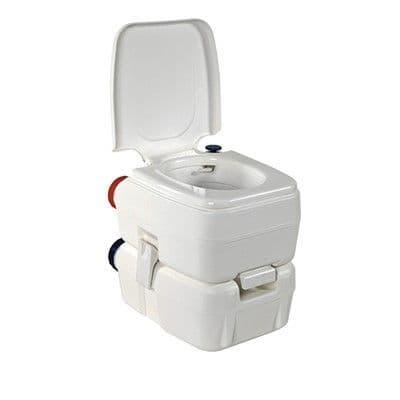 Fiamma Bi-Pot 34 Portable Toilet, Portable Camping Toilets, Toilets for Camping & Caravans, caravan Motorhome - Grasshopper Leisure