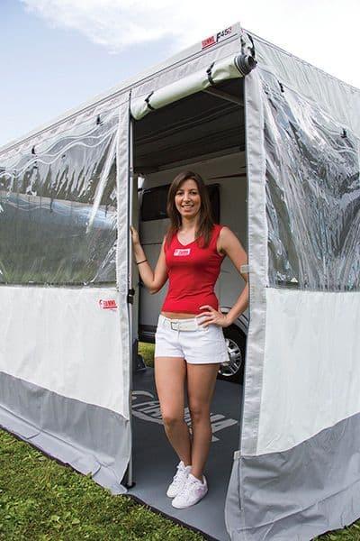 Fiamma Door Pole/Zip Door Pole F45, Awning & Privacy Room Accessories for caravan and motorhome - Grasshopper Leisure