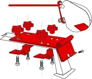 Fiamma F35 Awning Adapter Kit - Kit Standard