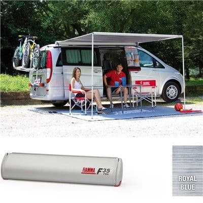 Fiamma  Awning  F35 Pro Titanium Case for Campervans and Small Caravans - Grasshopper Leisure