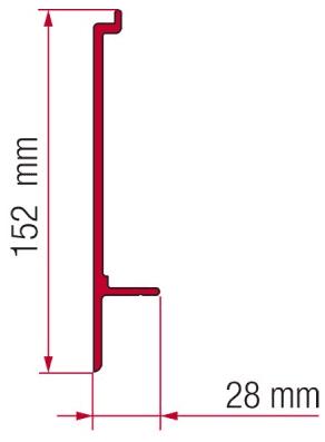 Fiamma F45 Awning Adapter Kit - Adapter T