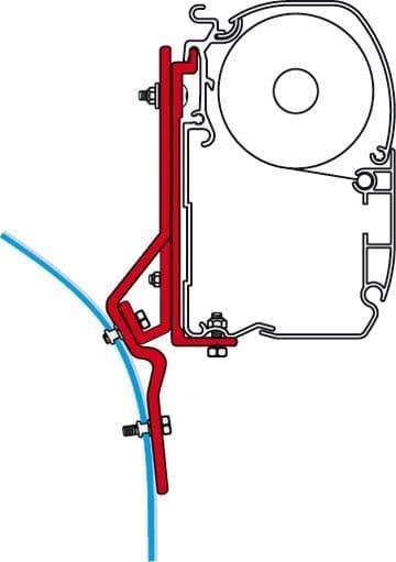Fiamma F45 Awning Adapter Kit - Ducato / Master