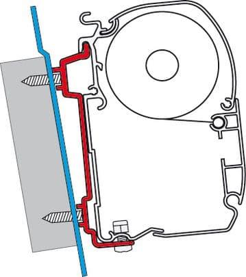 Fiamma F45 Awning Adapter Kit - Transit (High Roof)