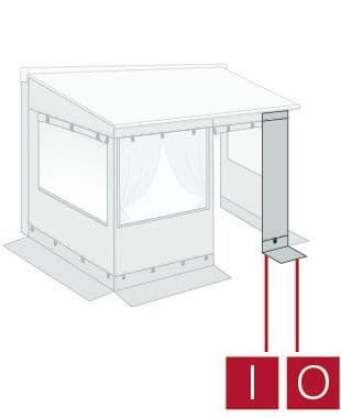 Fiamma Front Panel Light 75 For Privacy Room Light Enclosure