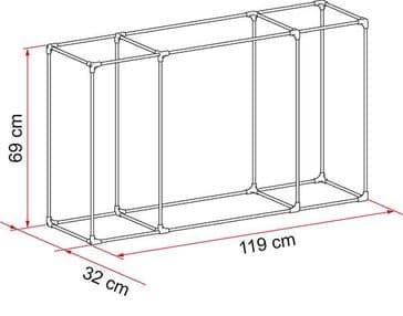 Fiamma Kit Frame Cargo Back