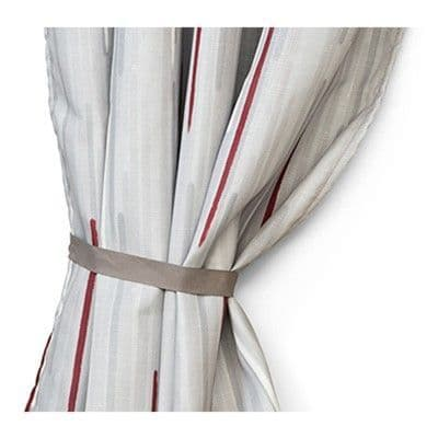 Fiamma Privacy Room Curtains - Smoke Grey (Pair), Awning & Privacy Room Accessories, caravan and motorhome accessories - Grasshopper Leisure