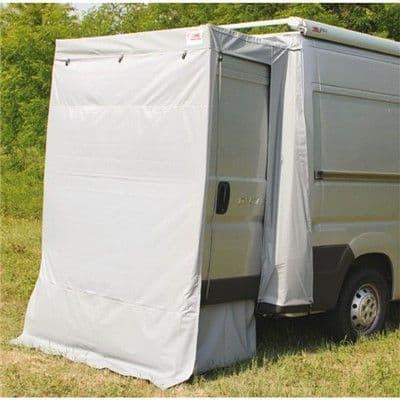 Fiamma Rear Door Cover Enclosure Ducato, Fiamma F65 S Privacy (Safari) Room, Caravan Motorhome Campervan Awnings - Grasshopper Leisure