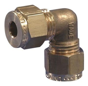 """Gas Connector Fitting 8mm (5/16"""") Equal Elbow"""