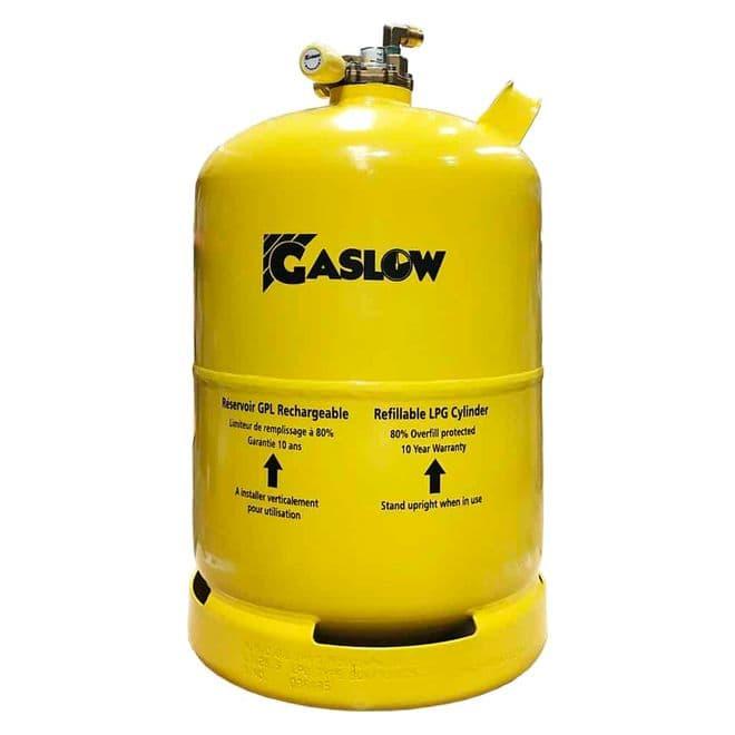 Gaslow 11KG Refillable LPG Cylinder No.1 (01-4011-67) - Gas equipment for Campervan, Caravan & Motorhome - Grasshopper Leisure
