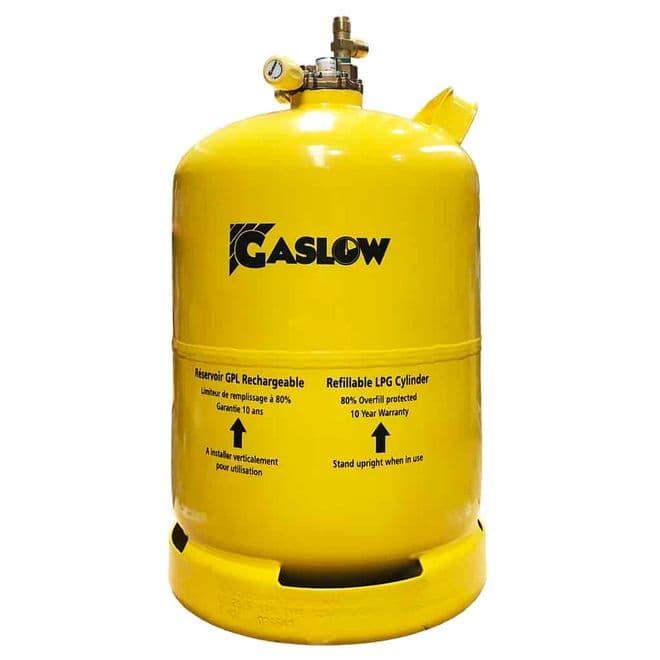 Gaslow 11KG Refillable LPG Cylinder No.2 (01-4011-67-2) - Gas equipment for Campervan, Caravan & Motorhome - Grasshopper Leisure
