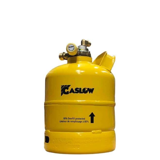 Gaslow 2.7KG Refillable LPG Cylinder No.1 (01-4003-67) - Gas equipment for Campervan, Caravan & Motorhome - Grasshopper Leisure