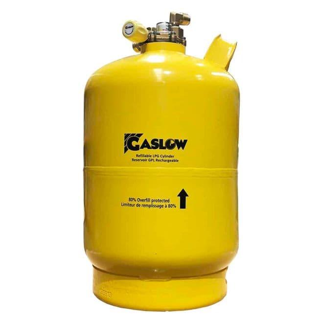 Gaslow 6KG Refillable LPG Cylinder No.1 (01-4006-67) - Gas equipment for Campervan, Caravan & Motorhome - Grasshopper Leisure