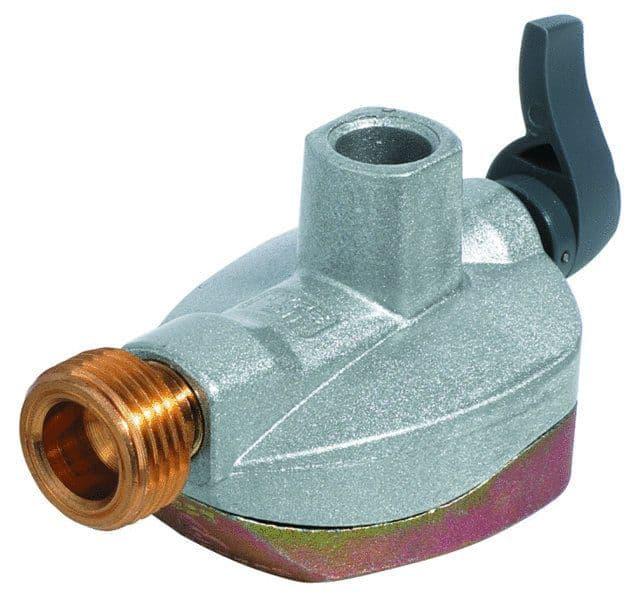 Euro Gas Regulator Adaptor 21mm Butane, Gas equipment for Campervan, Caravan & Motorhome - Grasshopper Leisure