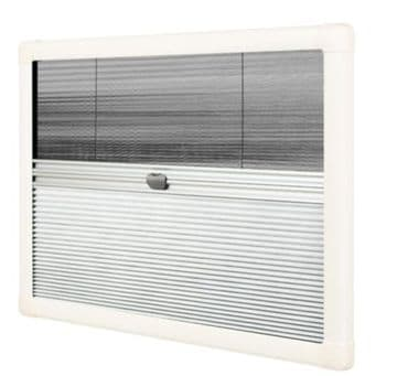 Horrex DuoPliss UCS Caravan Window Blind (1300x550mm) Campervan Motorhome