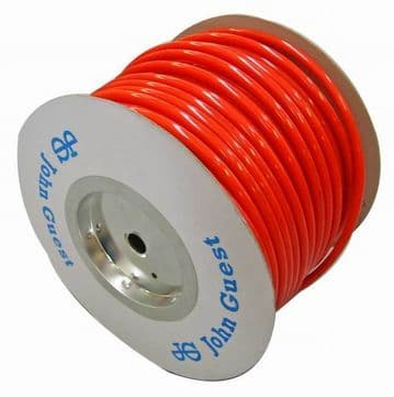 John Guest Semi Rigid Red Pipe (per Metre)