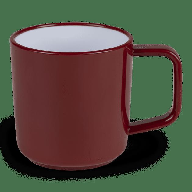 Kampa Dometic Ember Red 4 Piece Mug Set, Camping Caravan Campervan Motorhome - Grasshopper Leisure