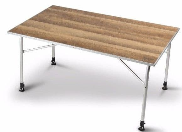 Kampa Dometic Zero Light Oak Large Camping Table, Outdoor Camping equipment - Grasshopper Leisure