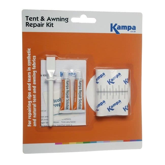 Kampa Tent & Awning Repair Kit, Tent & Camping Accessories - Grasshopper Leisure