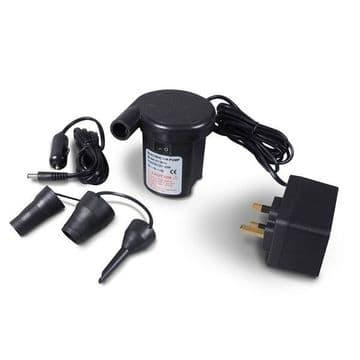 KAMPA Twister Two Way Quick Inflator Pump - 12 v / 240 v