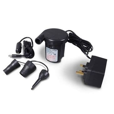 KAMPA Twister Two Way Quick Inflator Pump - 12 v / 240 v