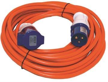 Leisurewize 10 Metre Mains Extension Lead Hook up Cable