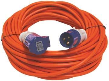 Leisurewize 25 Metre Mains Extension  Lead Hook Up (2.5mm Cable)