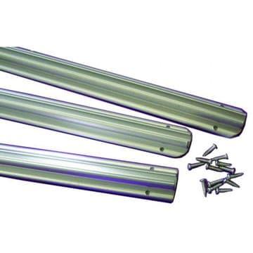 Leisurewize Awning Rail 3 x 1.2 Metre Strips