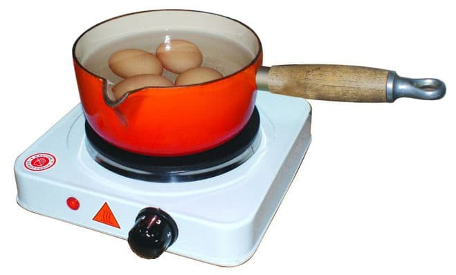 Leisurewize Camping Portable Home Electric Single Cooking Stove Hot Plate Hob - Grasshopper Leisure