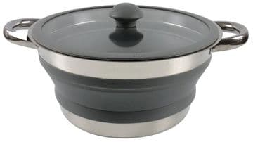 Leisurewize Small Collapsible Pan 1 Litre