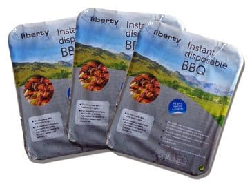 Liberty Leisure Instant Disposable Grill for BBQ